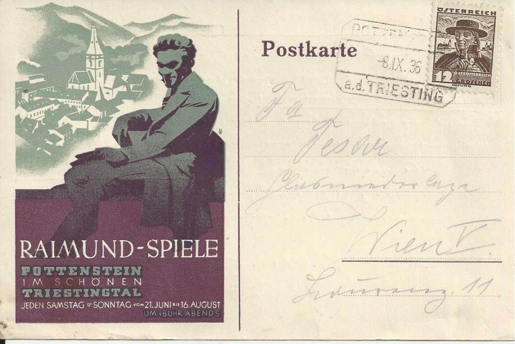 Werbeumschläge und -karten aus Österreich - Seite 8 Bild269
