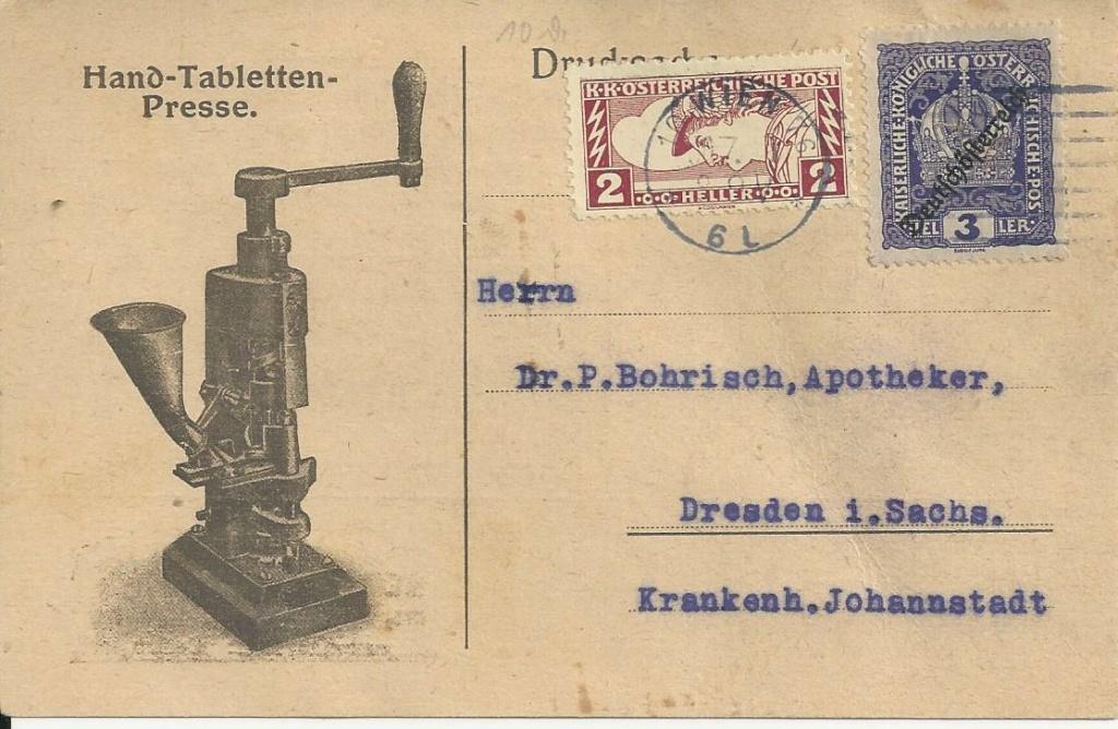 Werbeumschläge und -karten aus Österreich - Seite 8 Bild273