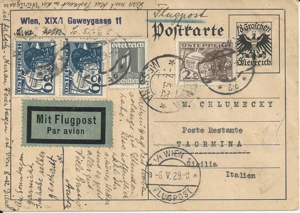 Bedarfspost Ganzsachen Österreich 1925-1938 - Seite 2 Bild280