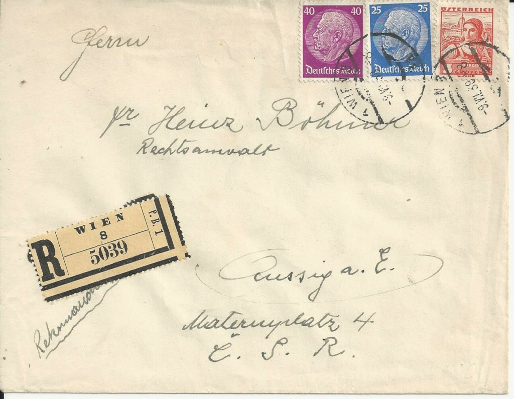Österreich im III. Reich (Ostmark) Belege - Seite 25 Bild282
