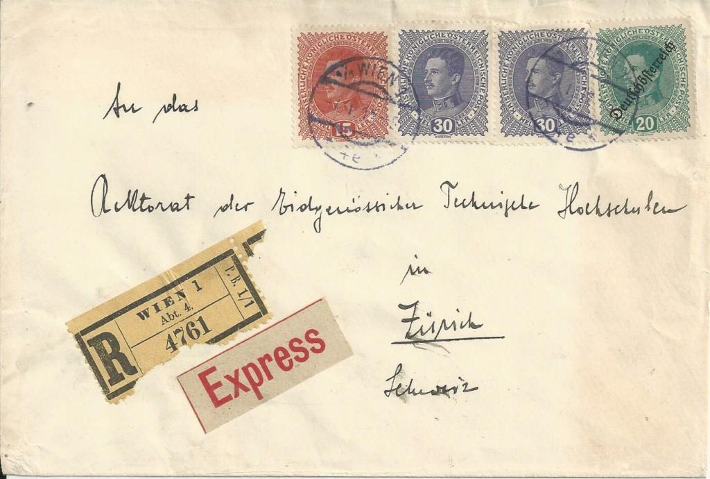 Inflation in Österreich - Belege - 1918 bis 1925 - Seite 27 Bild283