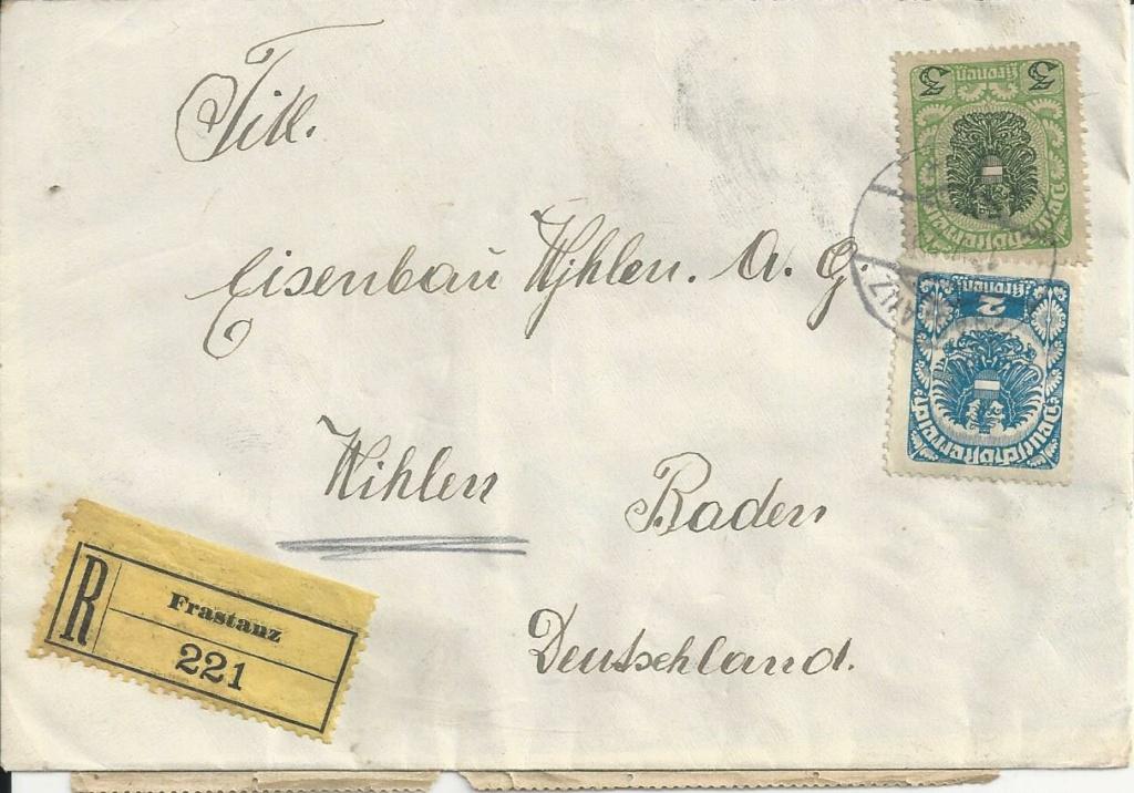 Inflation in Österreich - Belege - 1918 bis 1925 - Seite 27 Bild291