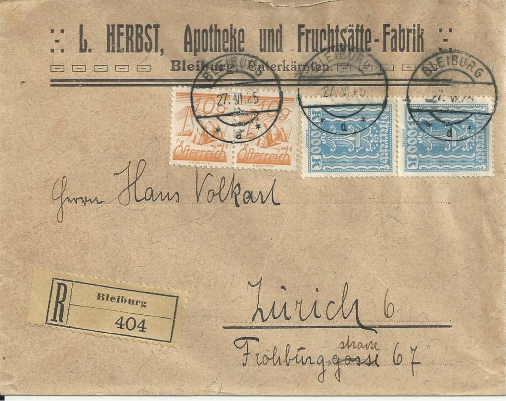 Inflation in Österreich - Belege - 1918 bis 1925 - Seite 27 Bild294