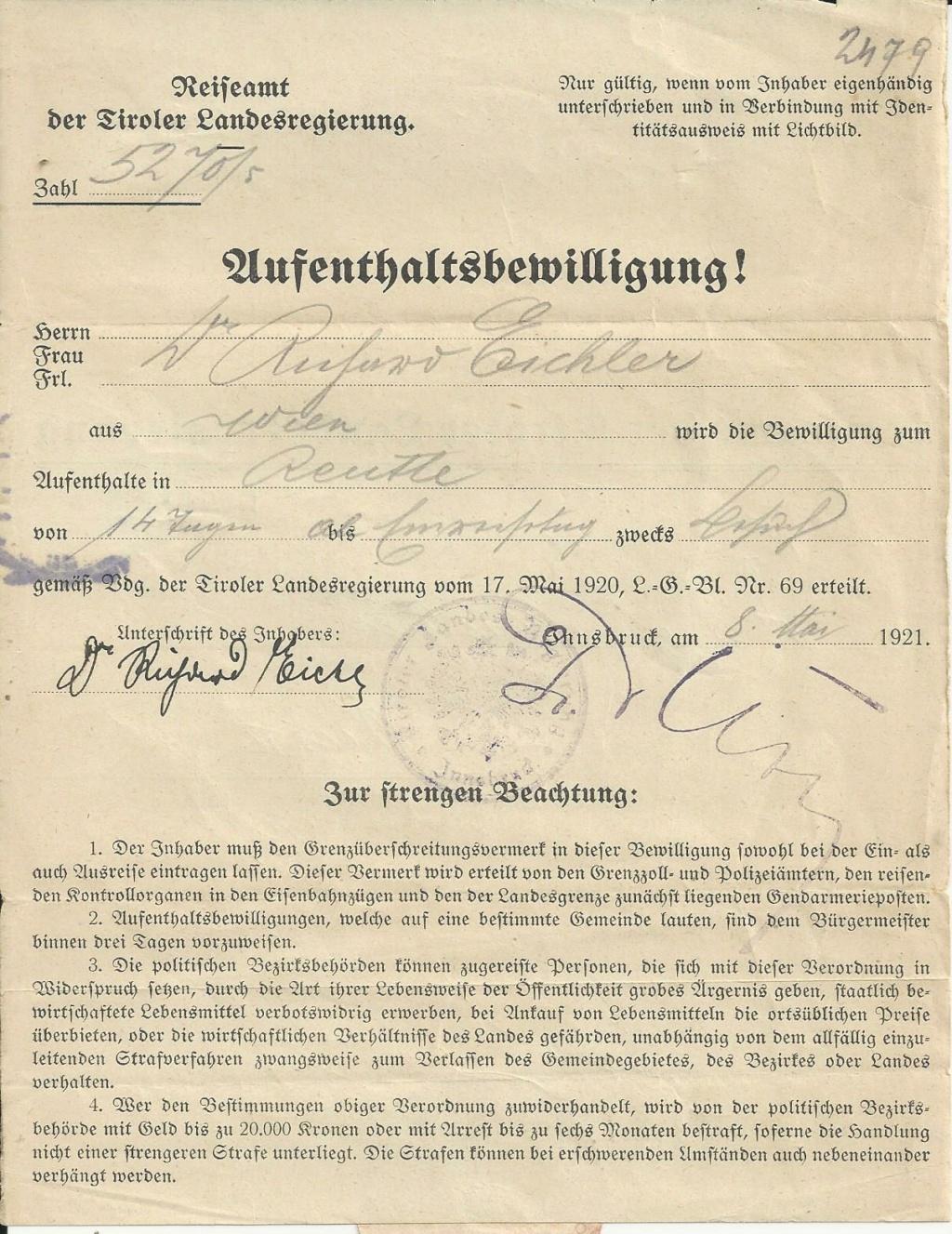 Inflation in Österreich - Belege - 1918 bis 1925 - Seite 28 Bild303