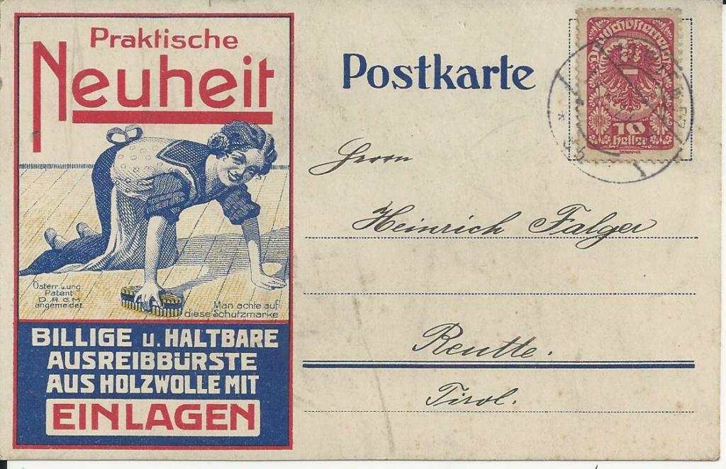 Werbeumschläge und -karten aus Österreich - Seite 8 Bild315