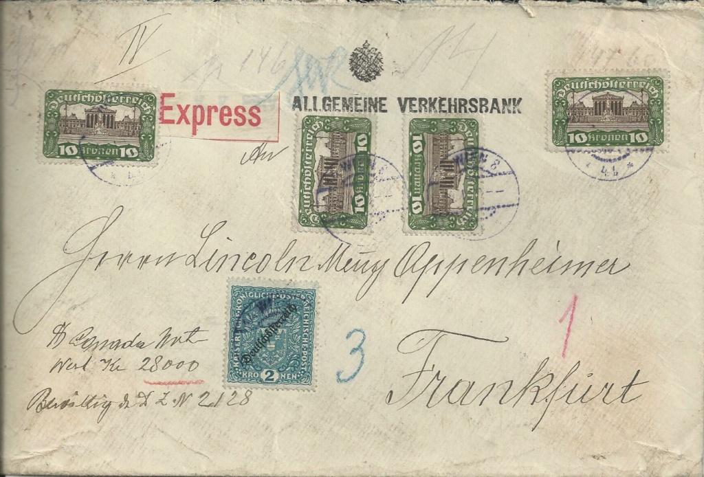 Inflation in Österreich - Belege - 1918 bis 1925 - Seite 28 Bild318