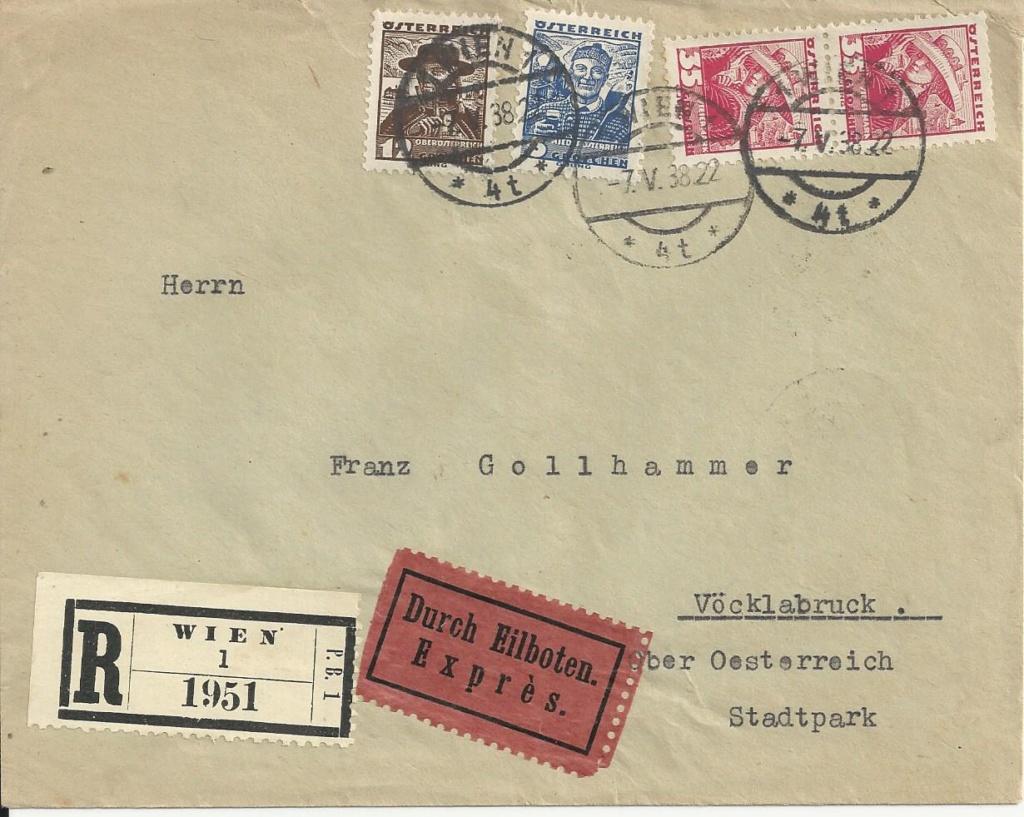 Österreich im III. Reich (Ostmark) Belege - Seite 14 Bild37
