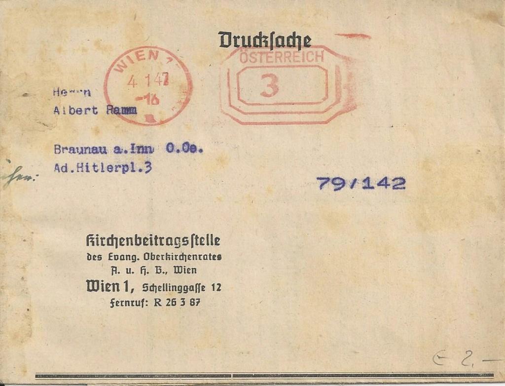 Österreichische Absenderfreistempel  Bild43
