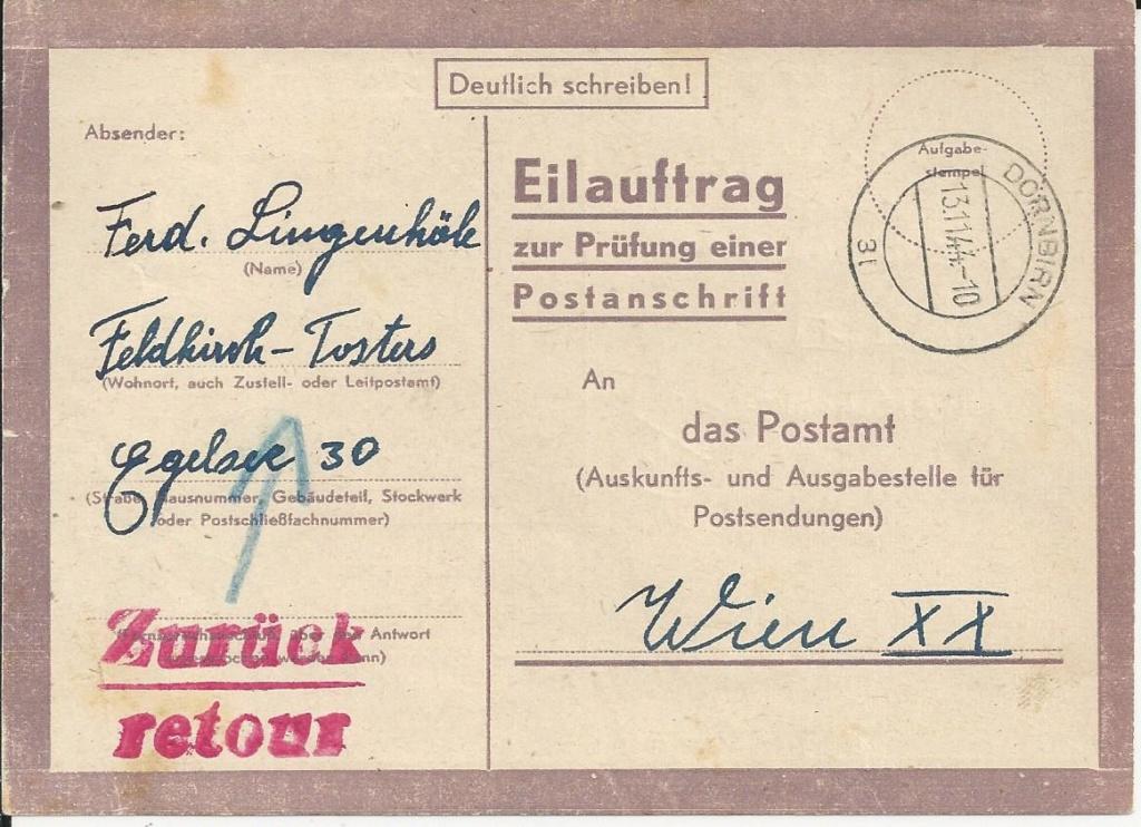 Österreich im III. Reich (Ostmark) Belege - Seite 15 Bild59