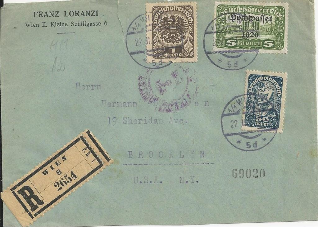 Inflation in Österreich - Belege - 1918 bis 1925 - Seite 20 Bild71