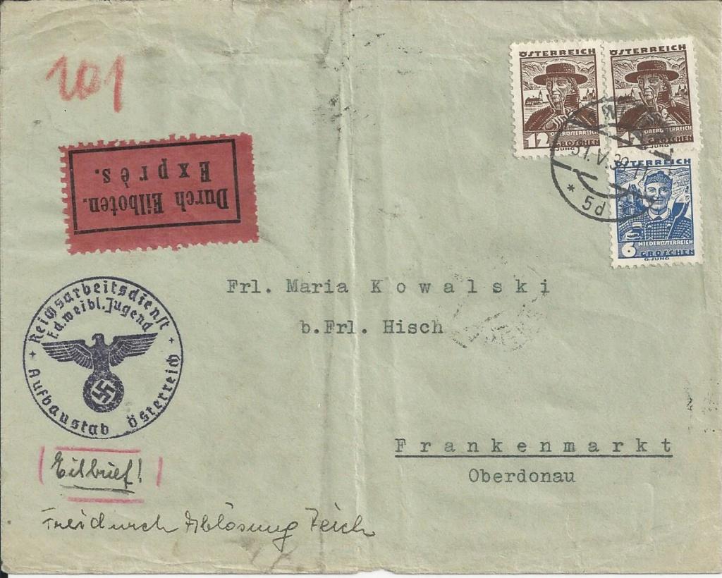 Österreich im III. Reich (Ostmark) Belege - Seite 15 Bild90