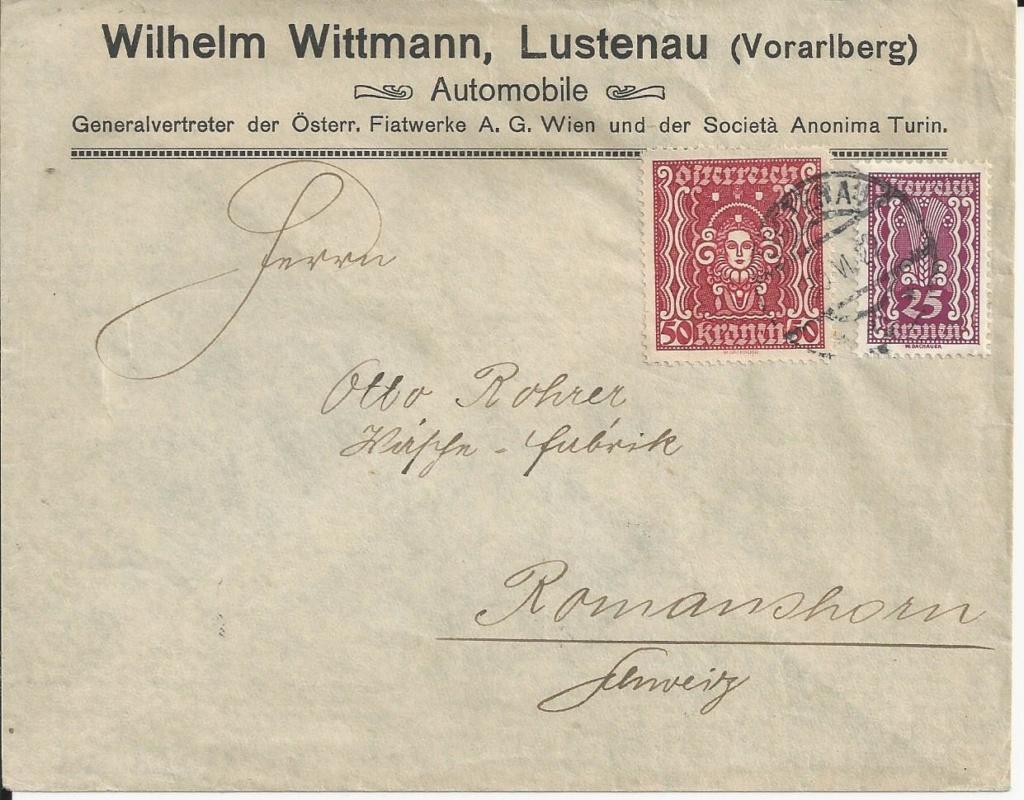 Inflation in Österreich - Belege - 1918 bis 1925 - Seite 20 Bild99