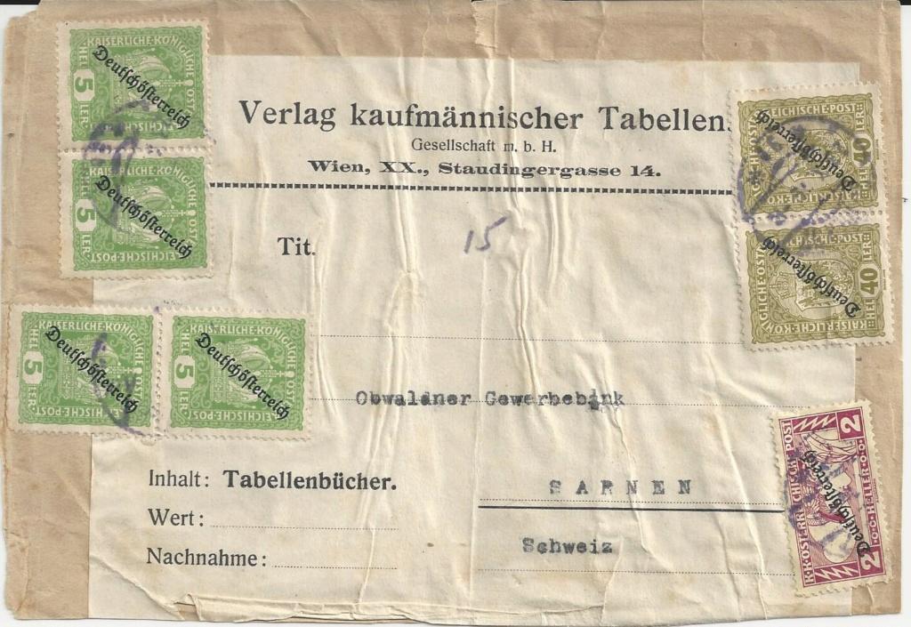 Inflation in Österreich - Belege - 1918 bis 1925 - Seite 21 Bild_106