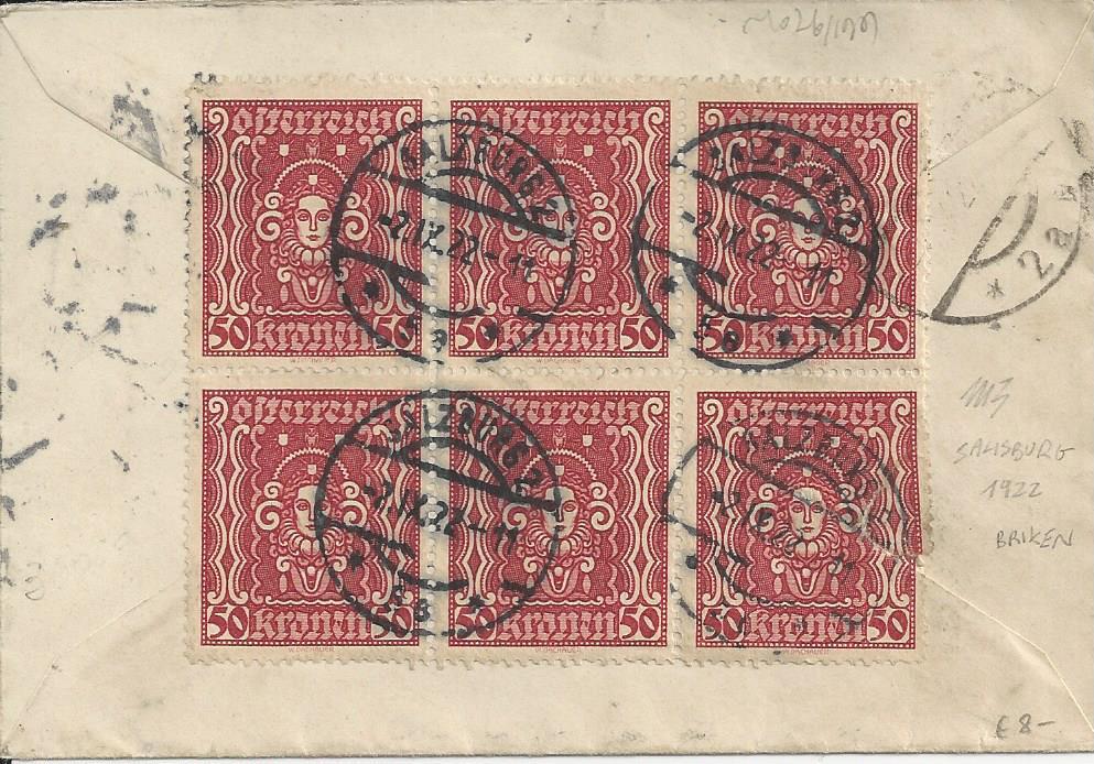 Inflation in Österreich - Belege - 1918 bis 1925 - Seite 21 Bild_108