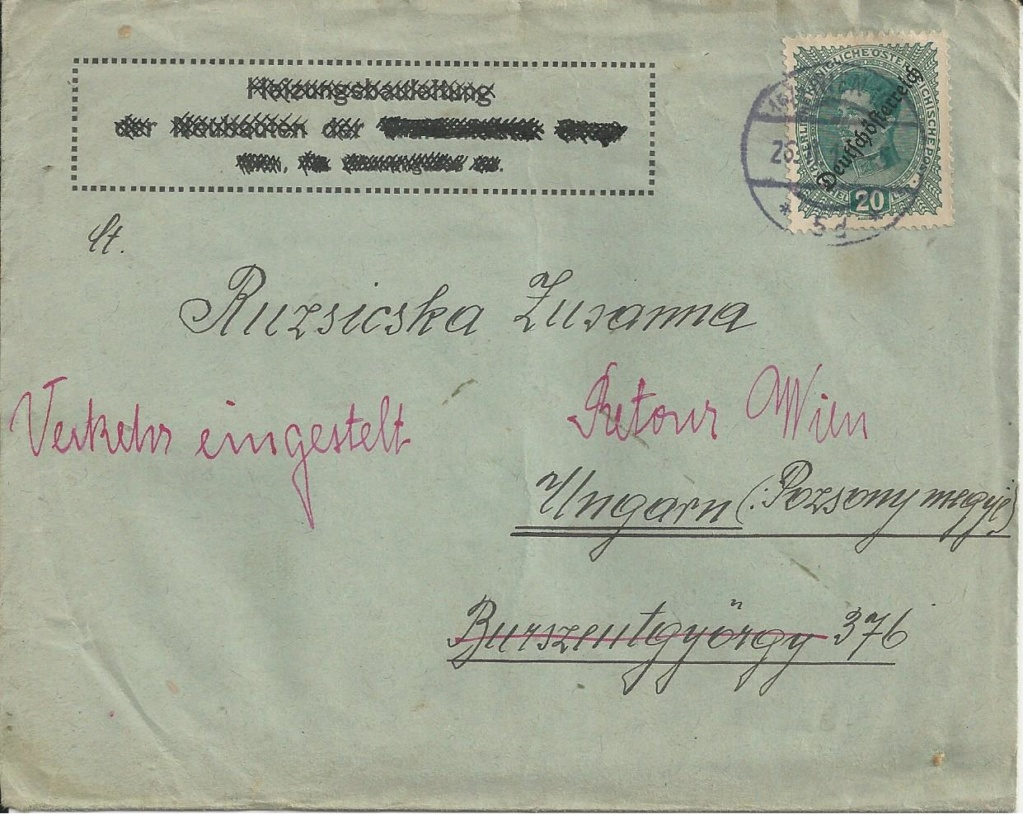 Inflation in Österreich - Belege - 1918 bis 1925 - Seite 21 Bild_116
