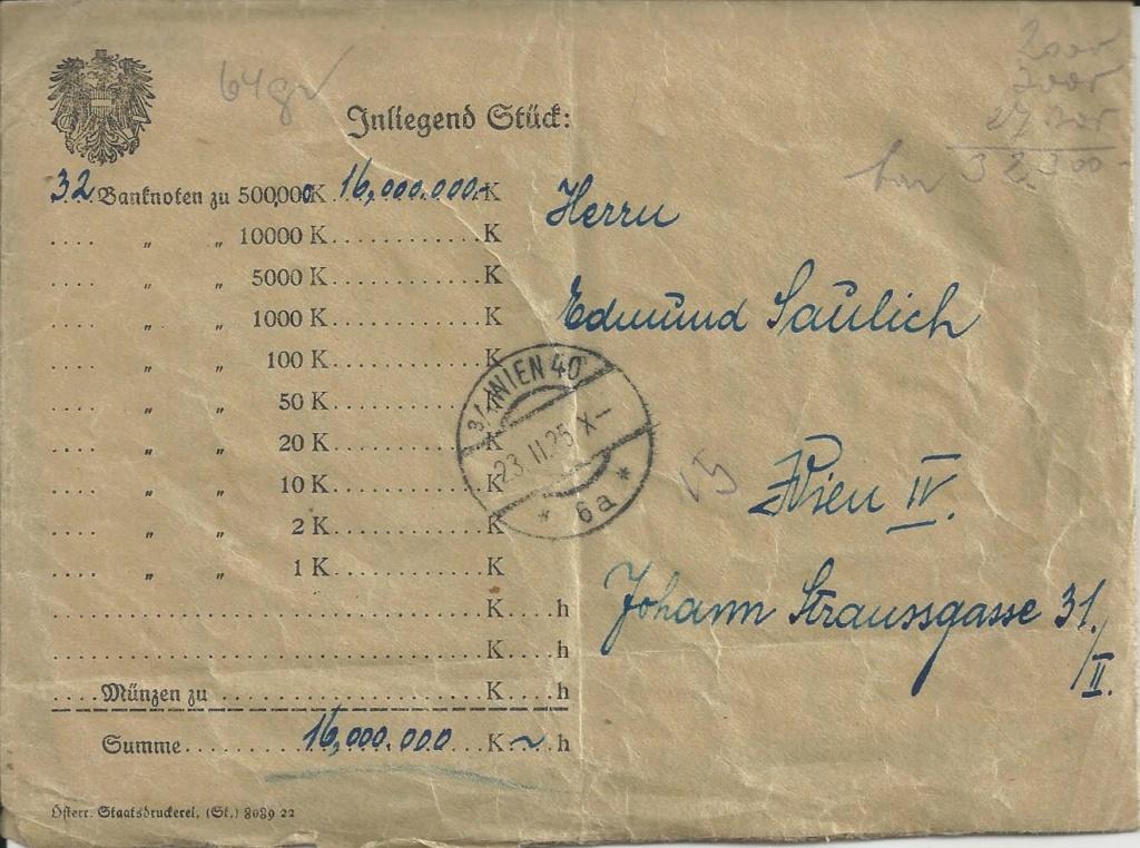 Inflation in Österreich - Belege - 1918 bis 1925 - Seite 22 Bild_125