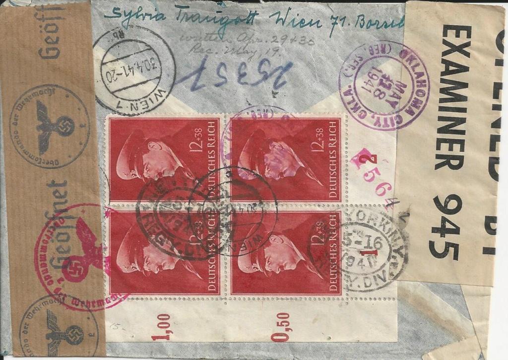 Österreich im III. Reich (Ostmark) Belege - Seite 17 Bild_127