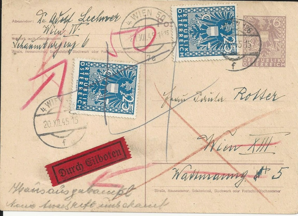 Wappenzeichnung  -  ANK 714-736 - Belege - Seite 5 Bild_147