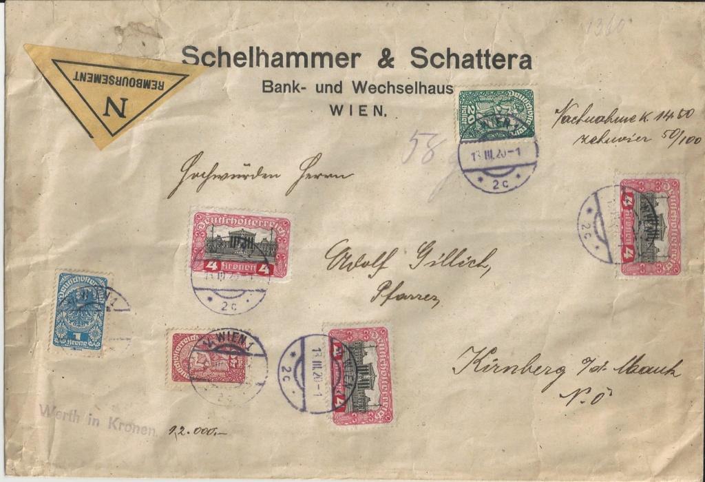 Inflation in Österreich - Belege - 1918 bis 1925 - Seite 22 Bild_150