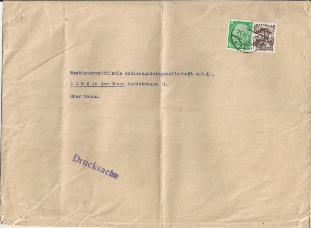 Österreich im III. Reich (Ostmark) Belege - Seite 17 Bild_164