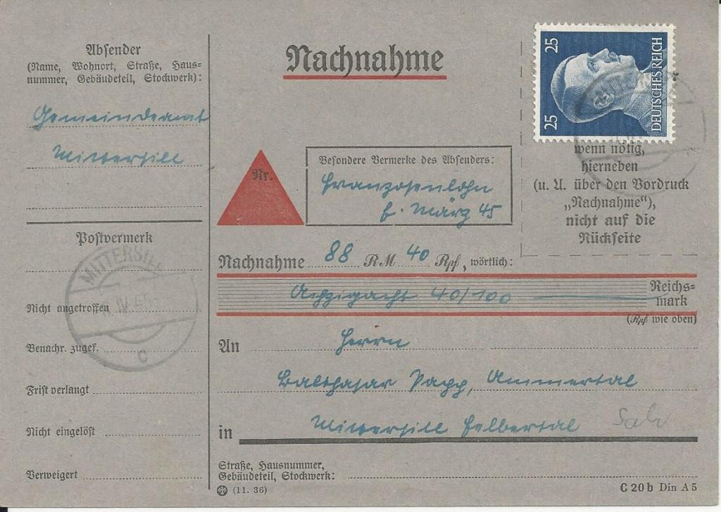 Österreich im III. Reich (Ostmark) Belege - Seite 18 Bild_167