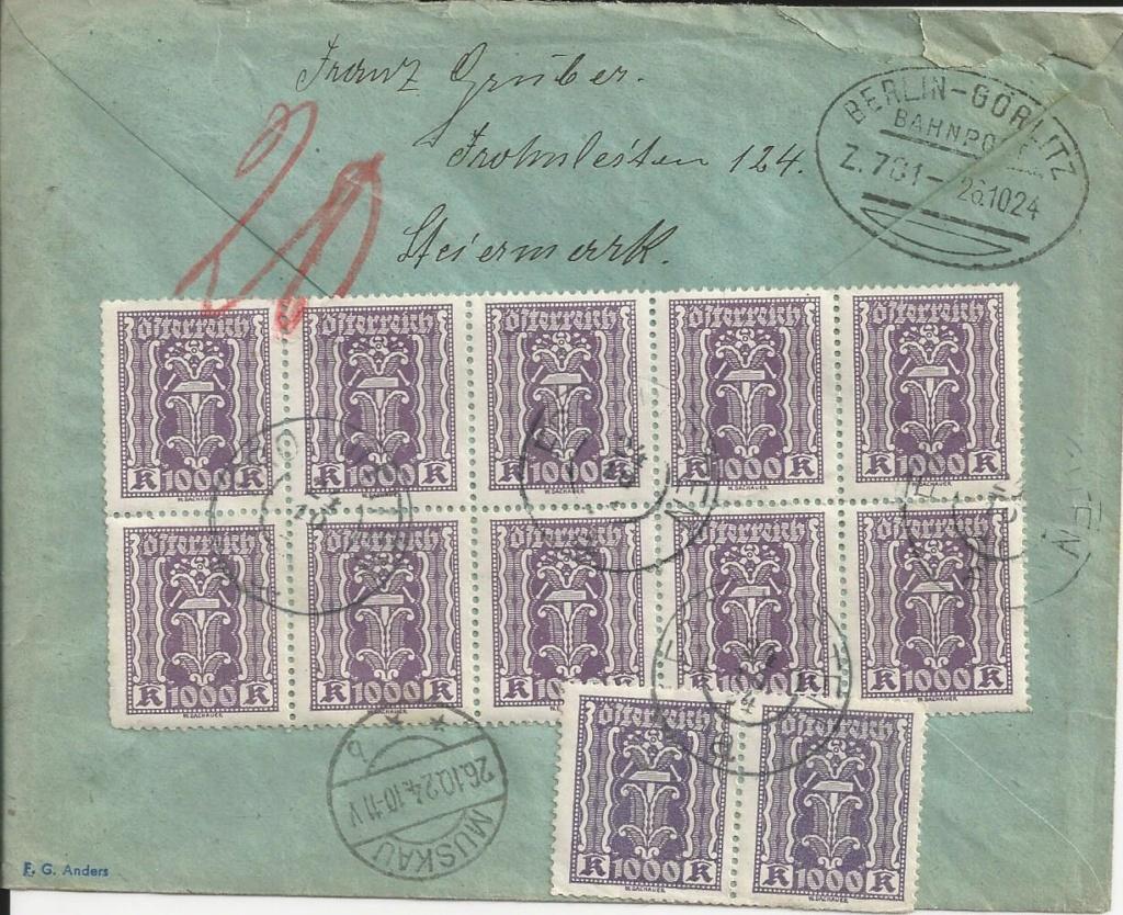 Inflation in Österreich - Belege - 1918 bis 1925 - Seite 22 Bild_174