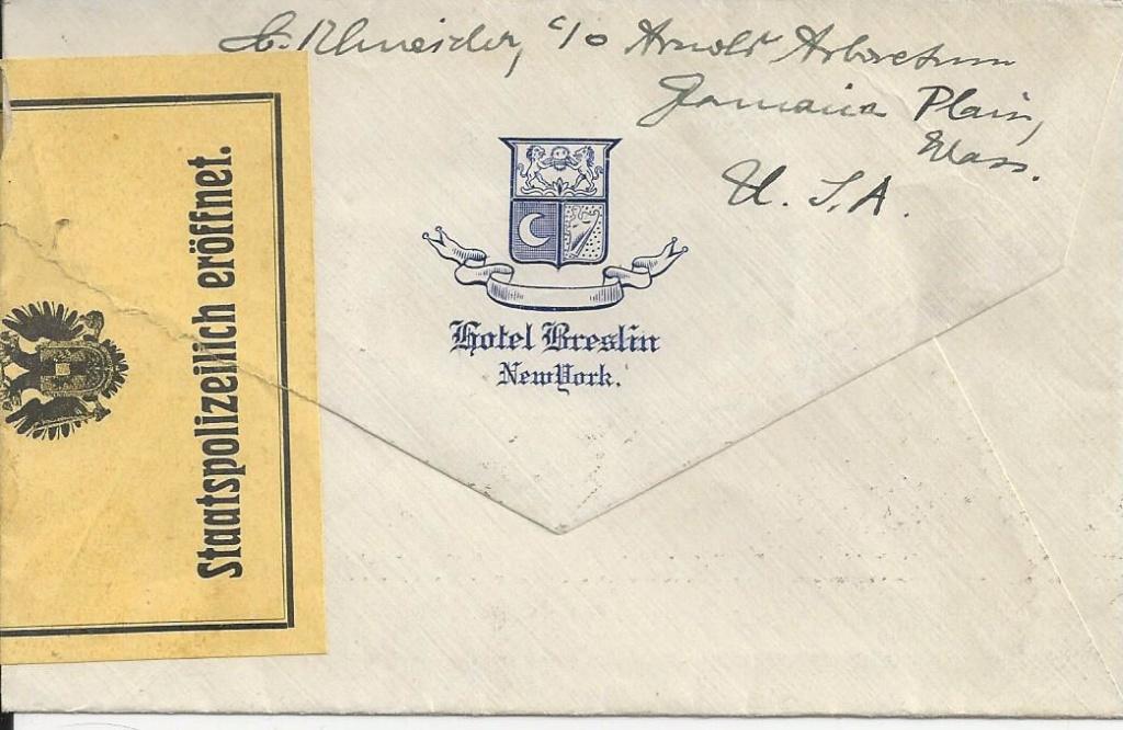 Zivilpost-Zensur in Osterreich 1914-1918 Bild_193