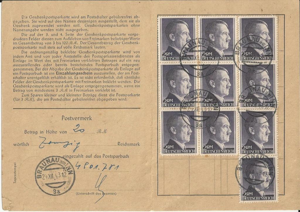 Österreich im III. Reich (Ostmark) Belege - Seite 14 Bild_225