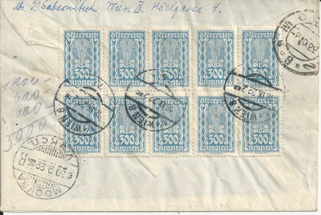 Inflation in Österreich - Belege - 1918 bis 1925 - Seite 18 Bild_237
