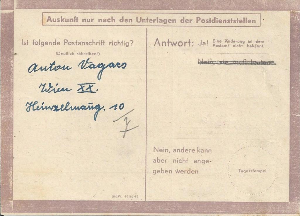 Österreich im III. Reich (Ostmark) Belege - Seite 15 Bild_245