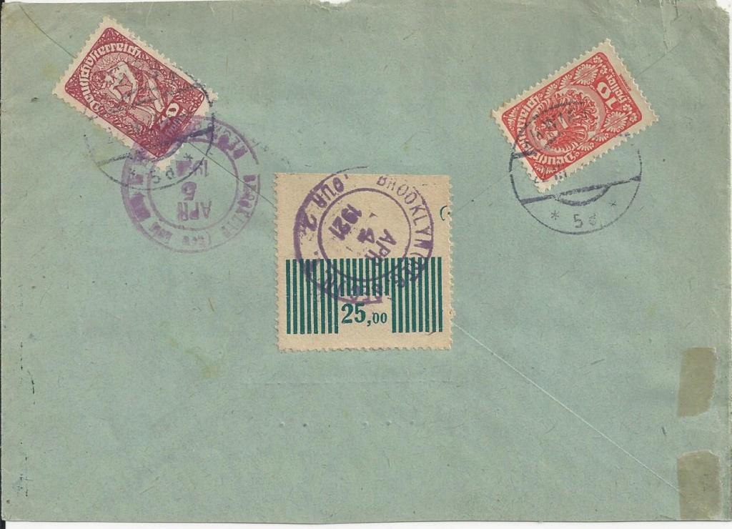 Inflation in Österreich - Belege - 1918 bis 1925 - Seite 20 Bild_254