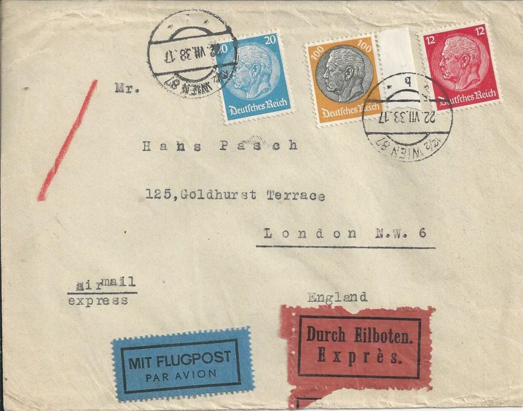 Österreich im III. Reich (Ostmark) Belege - Seite 16 Bild_284