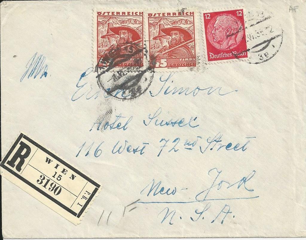 Österreich im III. Reich (Ostmark) Belege - Seite 14 Bild_310
