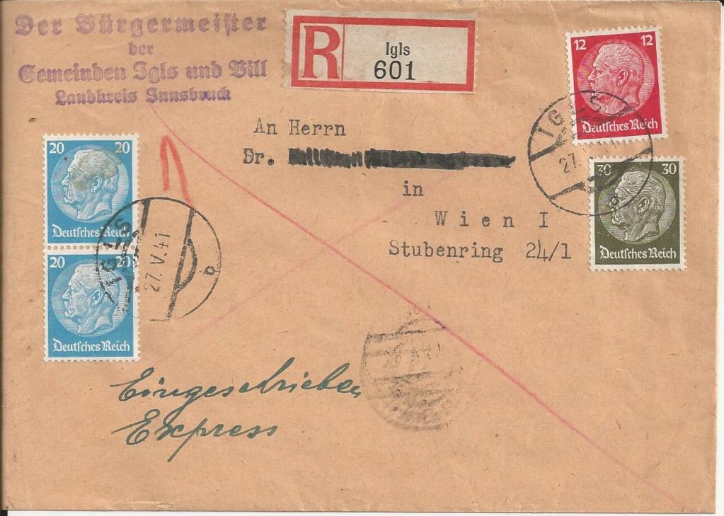 Österreich im III. Reich (Ostmark) Belege - Seite 14 Bild_321