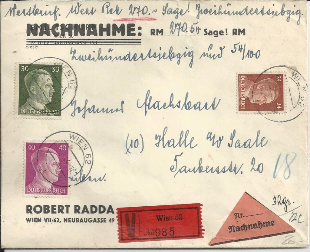 Österreich im III. Reich (Ostmark) Belege - Seite 15 Bild_350