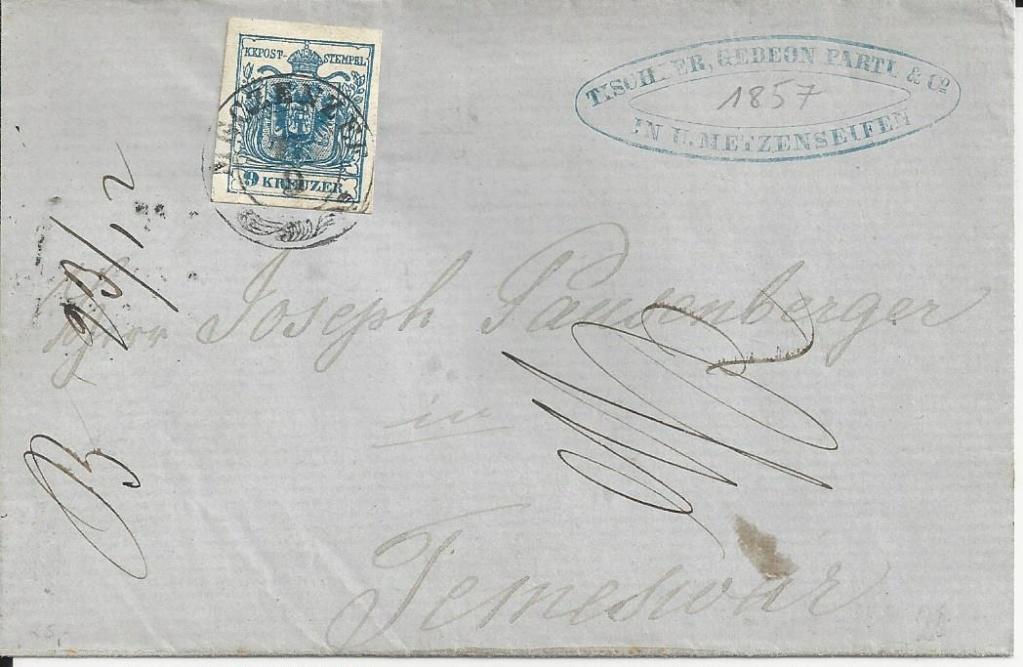 nach - Die erste Österreichische Ausgabe 1850 - Seite 24 Bild_379