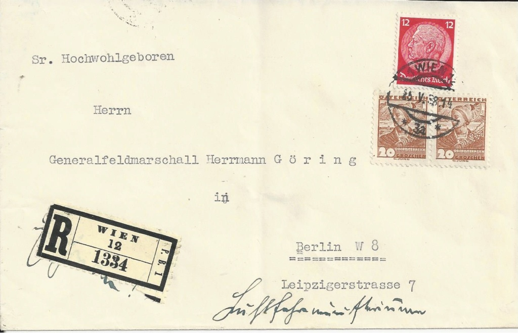 Österreich im III. Reich (Ostmark) Belege - Seite 17 Bild_382