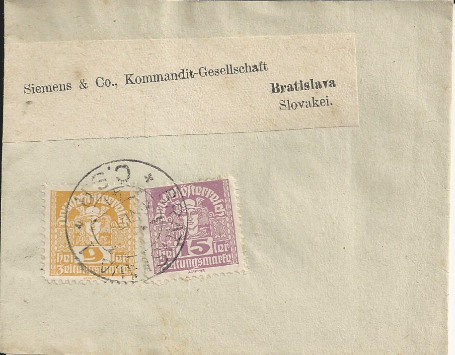 Inflation in Österreich - Belege - 1918 bis 1925 - Seite 23 Bild_388