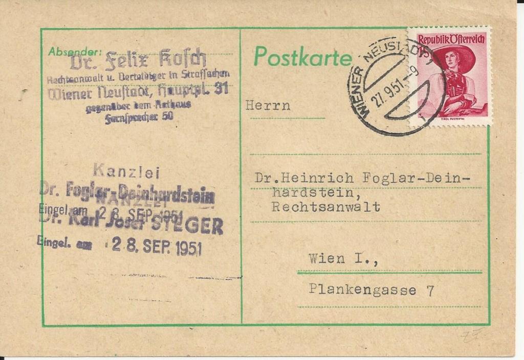 trachten - Trachtenserien ANK 887 - 923 und 1052 - 1072 Belege - Seite 13 Bild_389