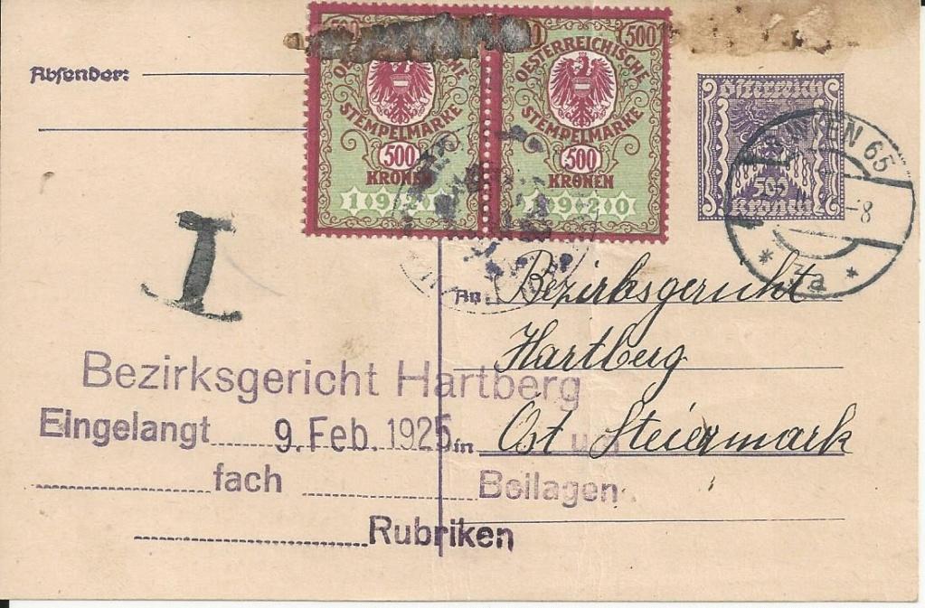 Inflation in Österreich - Belege - 1918 bis 1925 - Seite 23 Bild_400
