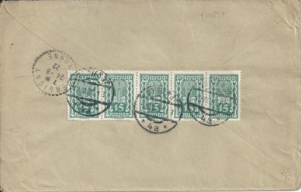Inflation in Österreich - Belege - 1918 bis 1925 - Seite 23 Bild_406