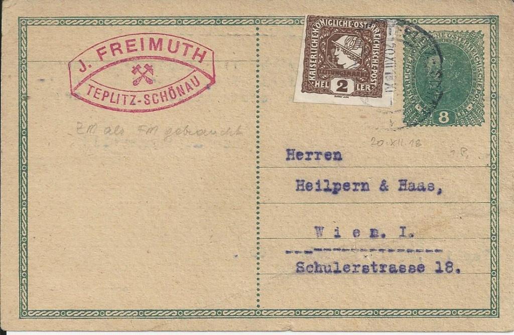 Inflation in Österreich - Belege - 1918 bis 1925 - Seite 19 Bild_430