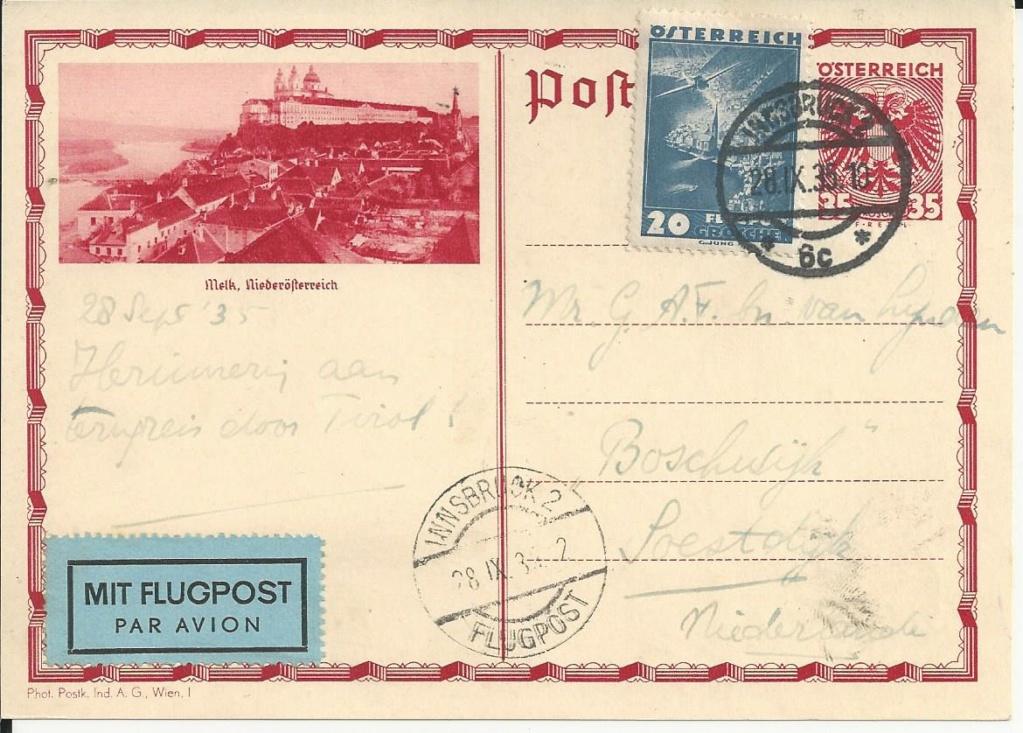 Bedarfspost Ganzsachen Österreich 1925-1938 Bild_443