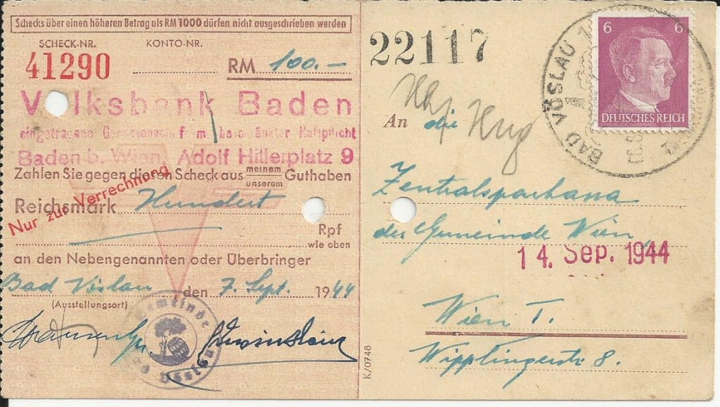 Österreich im III. Reich (Ostmark) Belege - Seite 16 Bild_449