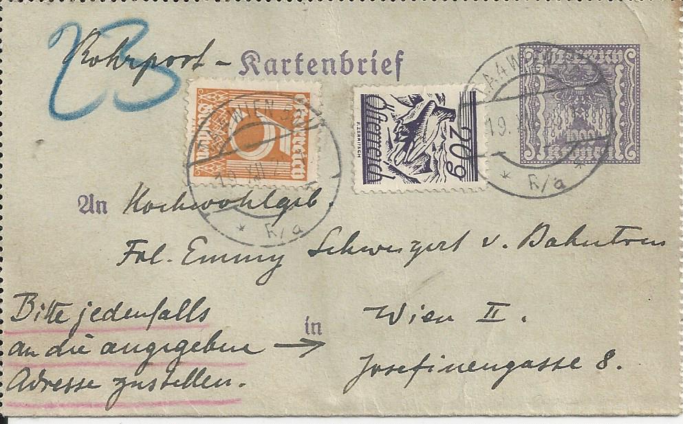 Inflation in Österreich - Belege - 1918 bis 1925 - Seite 23 Bild_461