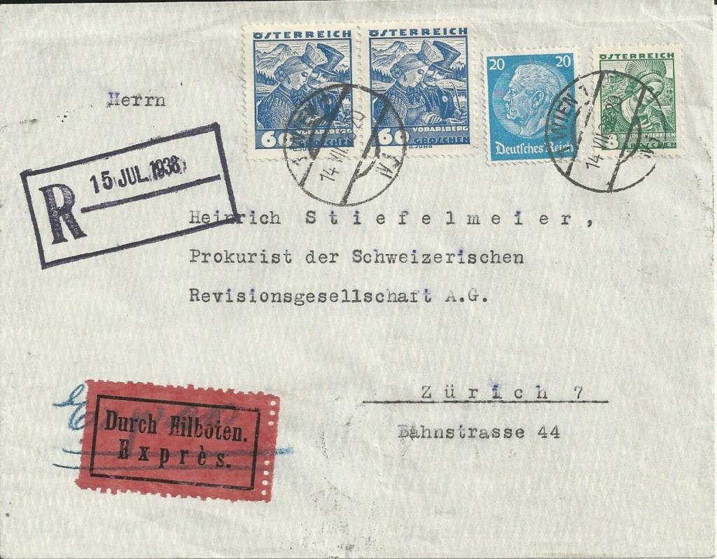 Österreich im III. Reich (Ostmark) Belege - Seite 20 Bild_490