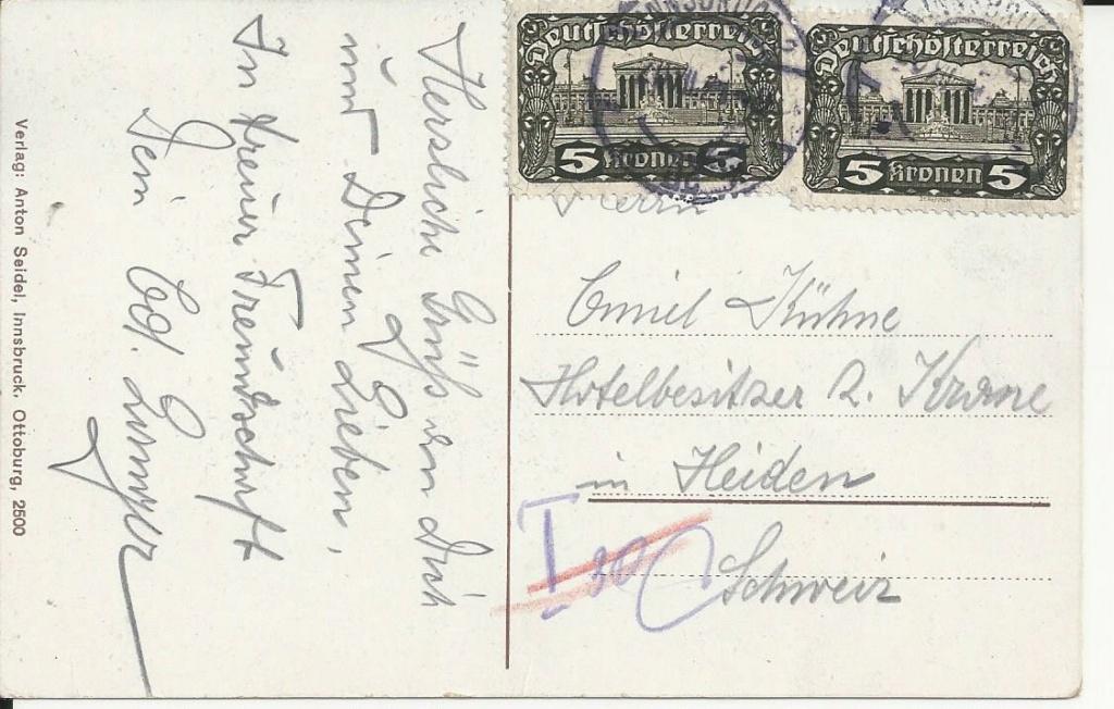 Inflation in Österreich - Belege - 1918 bis 1925 - Seite 24 Bild_496