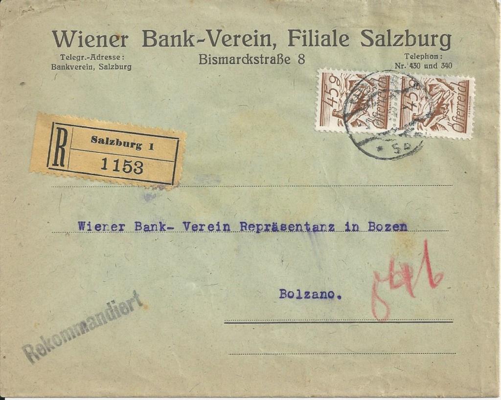 Briefe / Poststücke österreichischer Banken - Seite 4 Bild_513