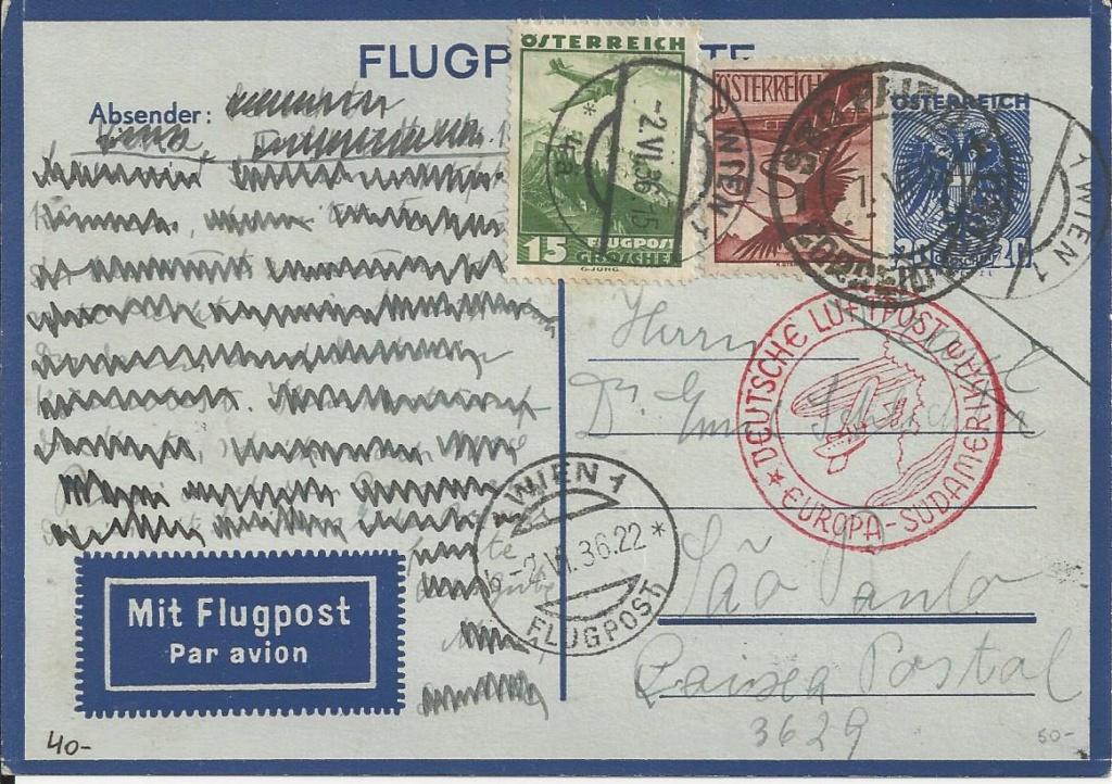 Flugpostkarten Erste Republik Bild_529