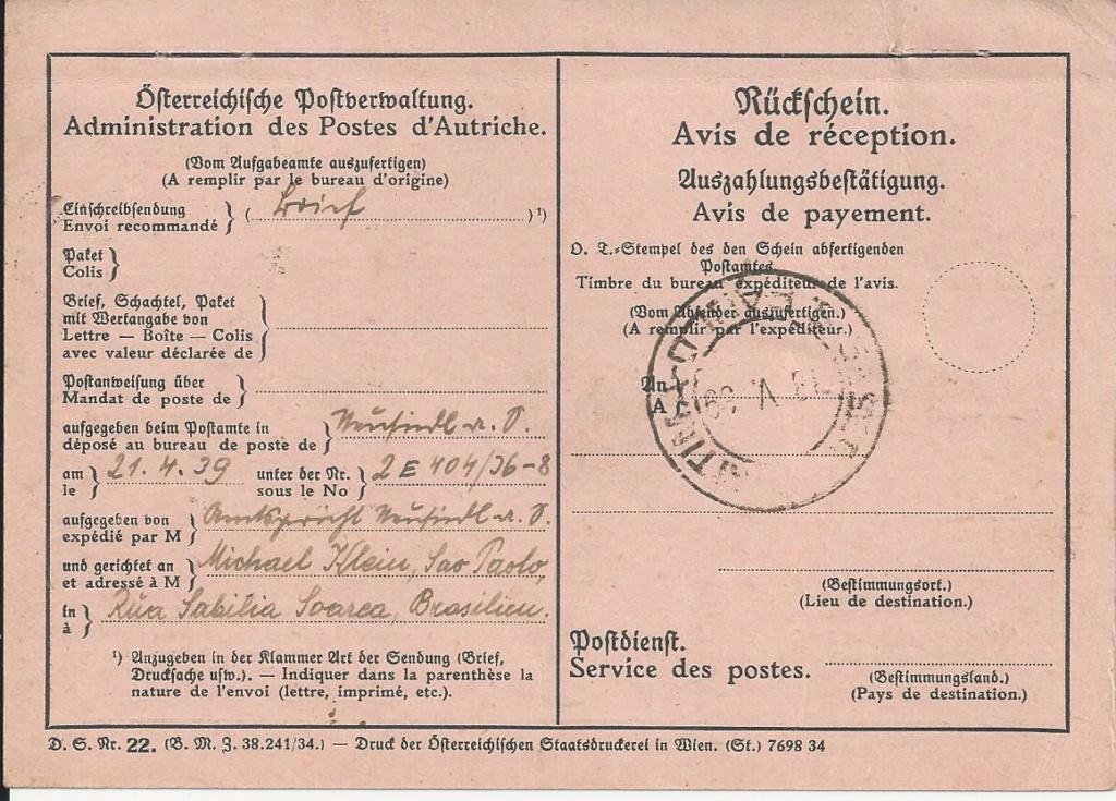 Österreich im III. Reich (Ostmark) Belege - Seite 19 Bild_547
